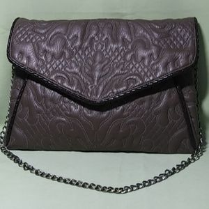 Handbags - Sandra Roberts Bag Taupe Quilted